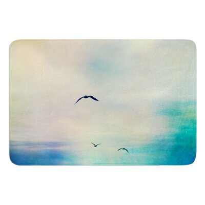 Freedom by Sylvia Cook Bath Mat
