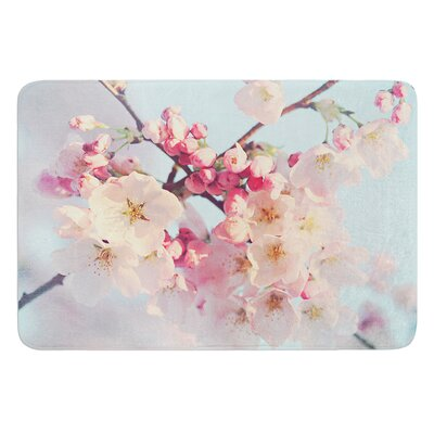 Waiting for Spring by Sylvia Cook Bath Mat