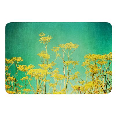 Flowers by Sylvia Cook Bath Mat