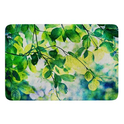 Leaves by Sylvia Cook Bath Mat
