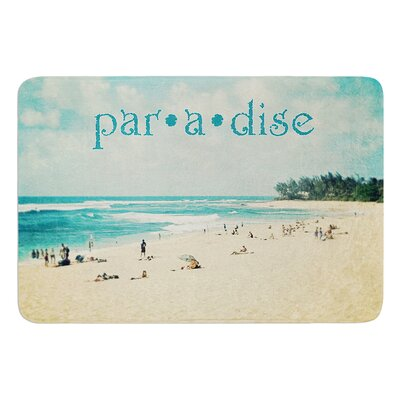 Paradise by Sylvia Cook Bath Mat