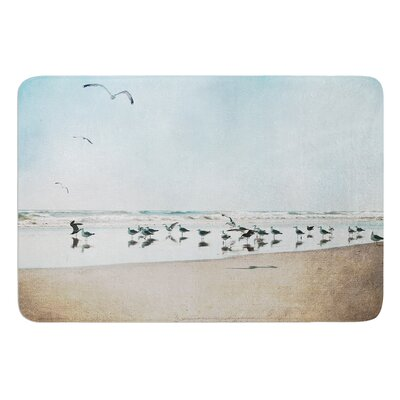 Sea Blue by Sylvia Cook Bath Mat