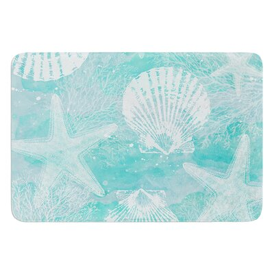 Seaside by Sylvia Cook Bath Mat