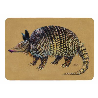 Aramadilio Alebrija by Sophy Tuttle Bath Mat