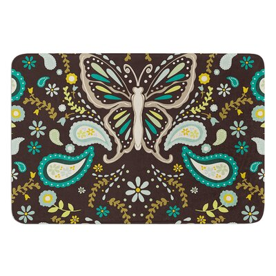 Butterfly Garden by Suzie Tremel Bath Mat