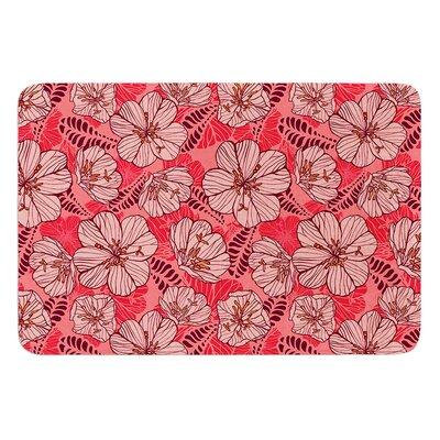 Flutter Floral by Suzie Tremel Bath Mat