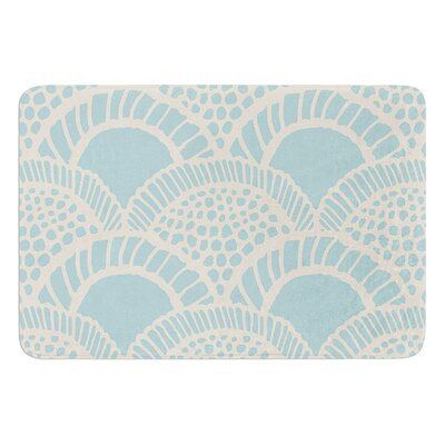 Heathered Scales by Suzie Tremel Bath Mat