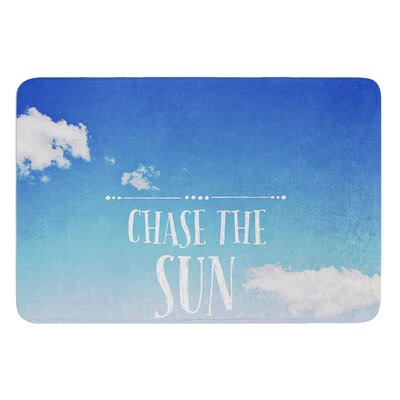 Chase the Sun by Susannah Tucker Bath Mat