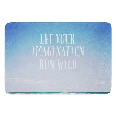 Let Your Imagination Run Wild by Susannah Tucker Bath Mat