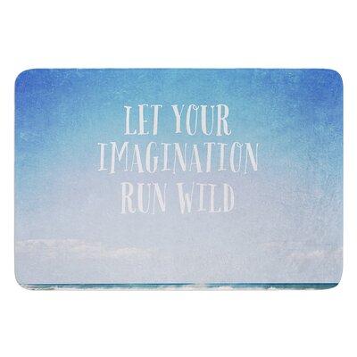 Let Your Imagination Run Wild by Susannah Tucker Bath Mat