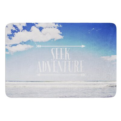Seek Adventure by Susannah Tucker Bath Mat