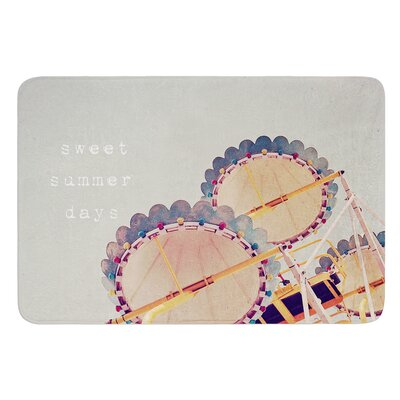 Sweet Summer Days by Susannah Tucker Bath Mat