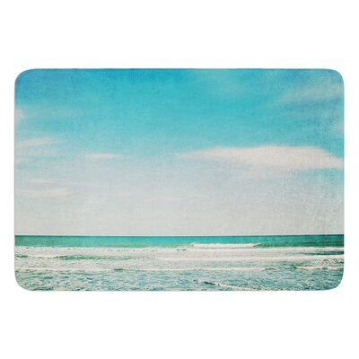 The Teal Ocean by Susannah Tucker Bath Mat