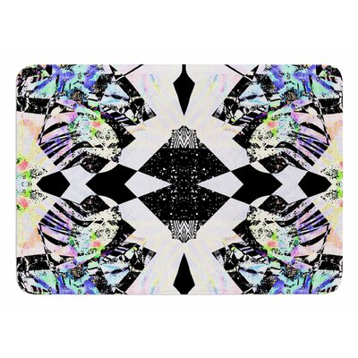 Abstract Zebra by Vasare Nar Bath Mat