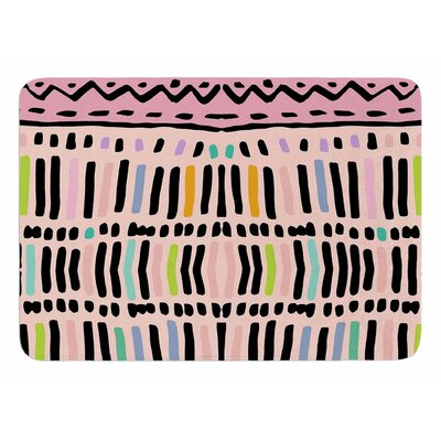 Native Pastel by Vasare Nar Bath Mat