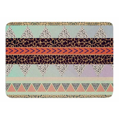 Animal Print Tribal by Vasare Nar Bath Mat