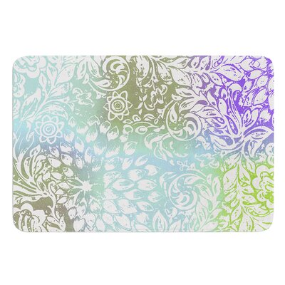 Bloom Softly for You by Vikki Salmela Bath Mat