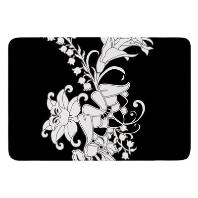 My Garden by Vikki Salmela Bath Mat