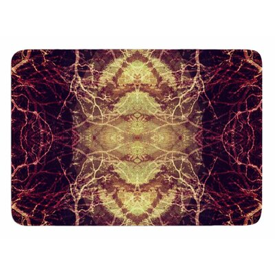 Burning Roots IV by Pia Schneider Bath Mat