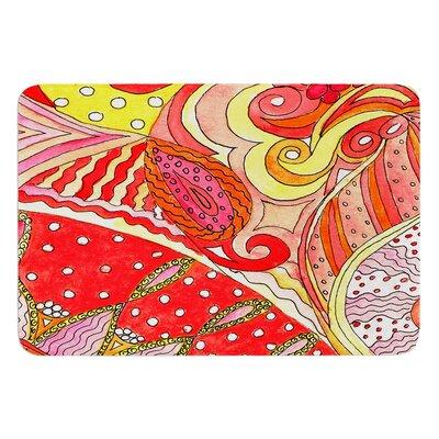 Swirls by Rosie Brown Bath Mat