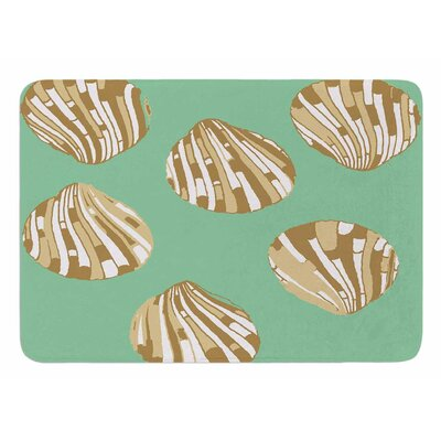 Scallop Shells by Rosie Brown Bath Mat