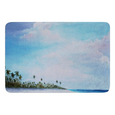 Carefree Carribean by Rosie Brown Bath Mat
