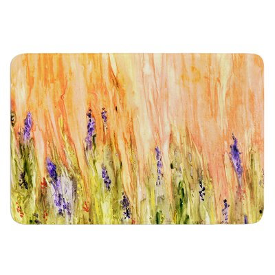 Welcome Spring by Rosie Brown Bath Mat