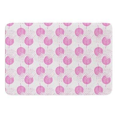 Wild Dandelions by Apple Kaur Designs Bath Mat
