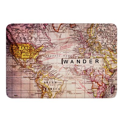 Wander by Sylvia Cook Bath Mat