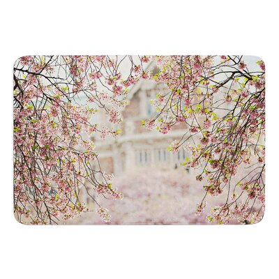 Pink Dream by Sylvia Cook Bath Mat