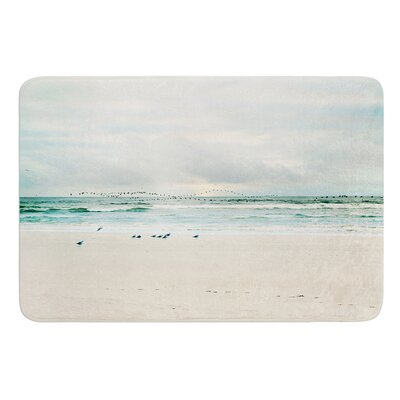 Flight by Sylvia Cook Bath Mat