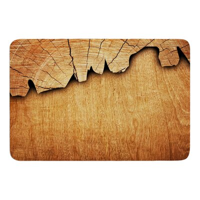 Natural Wood by Susan Sanders Bath Mat
