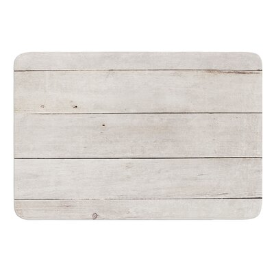 White Wash Wood by Susan Sanders Bath Mat