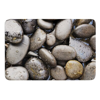Skipping Stone by Susan Sanders Bath Mat