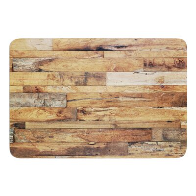 Campfire Wood by Susan Sanders Bath Mat