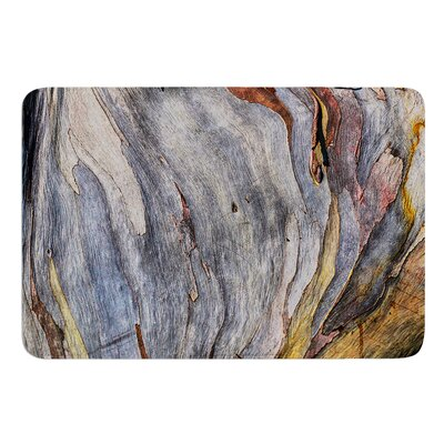 Milky Wood by Susan Sanders Bath Mat
