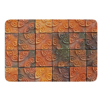 Whimsy Tile by Susan Sanders Bath Mat