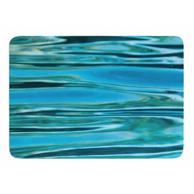 Water by Susan Sanders Bath Mat