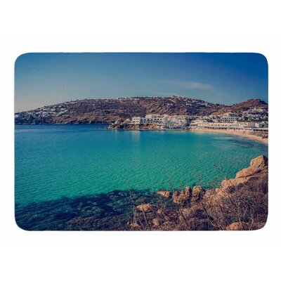 Mykonos Bay by Violet Hudson Bath Mat