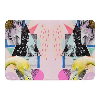 Flamingo Tropical by Vasare Nar Bath Mat