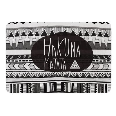 Hakuna Matata by Vasare Nar Bath Mat