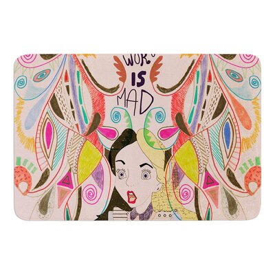 Alice in Wonderland by Vasare Nar Bath Mat