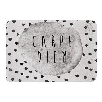 Carpe Diem by Vasare Nar Bath Mat