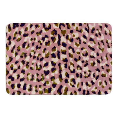 Leo Cheetah by Vasare Nar Bath Mat