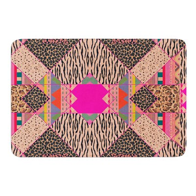 New Wave Zebra by Vasare Nar Bath Mat