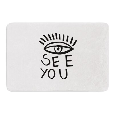 Eye See You by Vasare Nar Bath Mat