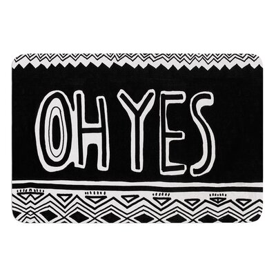 Oh Yes by Vasare Nar Bath Mat