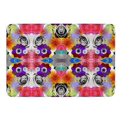 Tropical Flowers by Vasare Nar Bath Mat