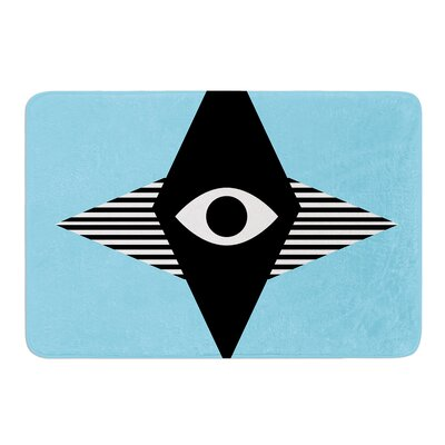 Eye Graphic by Vasare Nar Bath Mat