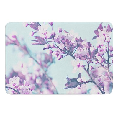 Cherry Phantasy by Monika Strigel Bath Mat